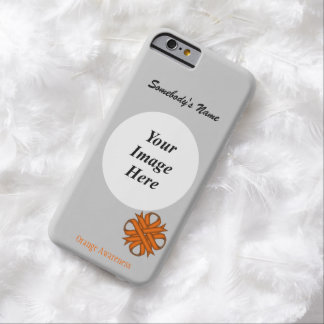 Orange Clover Ribbon Template Barely There iPhone 6 Case