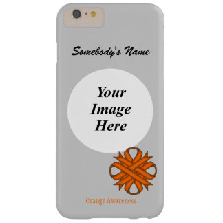 Orange Clover Ribbon Template Barely There iPhone 6 Plus Case