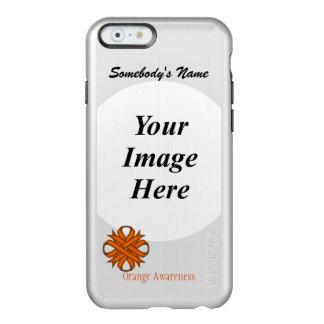 Orange Clover Ribbon Template Incipio Feather Shine iPhone 6 Case
