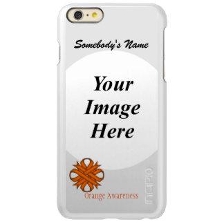 Orange Clover Ribbon Template Incipio Feather Shine iPhone 6 Plus Case