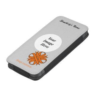 Orange Clover Ribbon Template iPhone SE/5/5s/5c Pouch