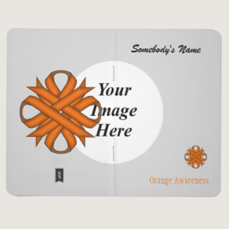 Orange Clover Ribbon Template Journal