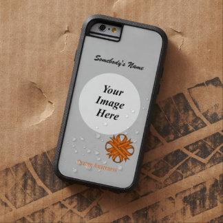Orange Clover Ribbon Template Tough Xtreme iPhone 6 Case