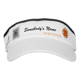 Orange Clover Ribbon Template Headsweats Visor
