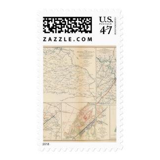 Orange Co, Va, Mine Run, Rapidan River Postage Stamp