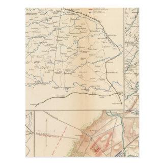 Orange Co, Va, Mine Run, Rapidan River Postcard