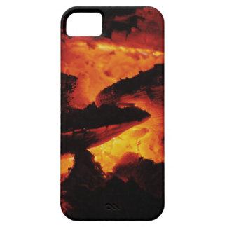 Orange Coal iPhone iPhone SE/5/5s Case