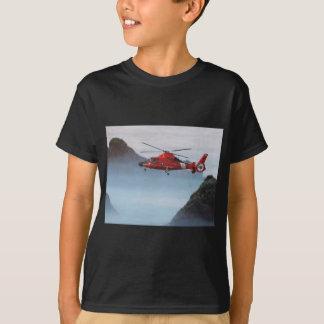 Orange Coast Guard Helicopter T-Shirt