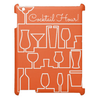 Orange cocktail party case for the iPad 2 3 4