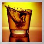 Orange cocktail print
