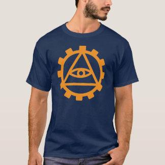 Orange Cog T-Shirt