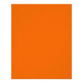 Orange Color 4.5 x 5.6 Glossy Paper