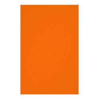 Orange Color 5.5 x 8.5 Glossy Paper