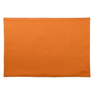 Orange Color Place Mat