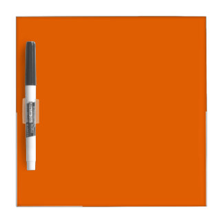 Orange Color Small Dry Erase Whiteboards