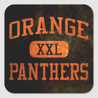 Orange Colors_Athletic Shirts_ORG png Square Stickers
