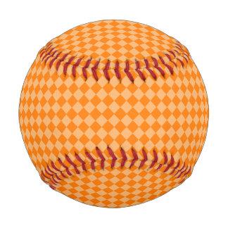 Orange Combination Diamond Pattern by STaylor Baseball
