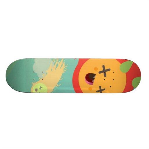 orange comet skateboard