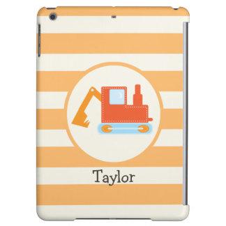 Orange Construction Toy Backhoe iPad Air Cases