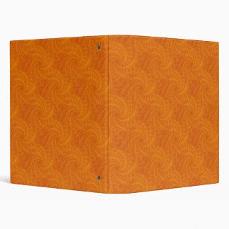 Orange Contrail Spiral Binder
