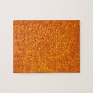 Orange Contrail Spiral Puzzle