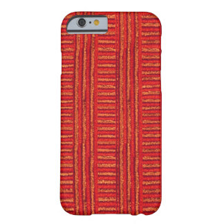 Orange Cords Barely There iPhone 6 Case