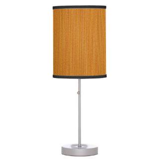 Orange Corrugated Cardboard Table Lamp