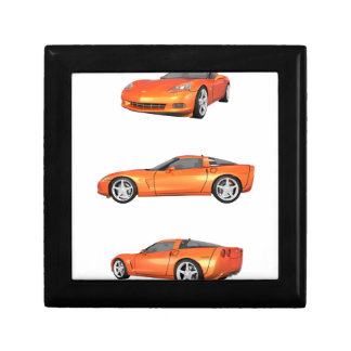 Orange Corvette: Jewelry Box