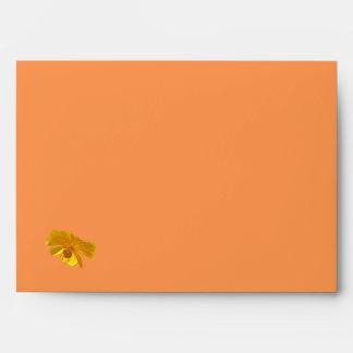 Orange Cosmos Matching Items Envelope