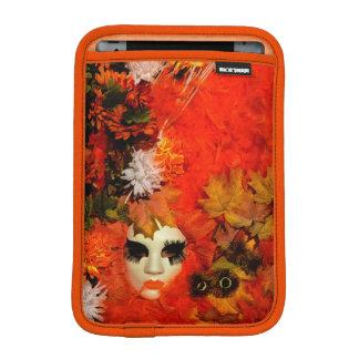 Orange Costume at the Carnival of Venice Sleeve For iPad Mini
