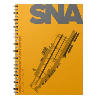 Orange County Airport (SNA) Diagram Notebook