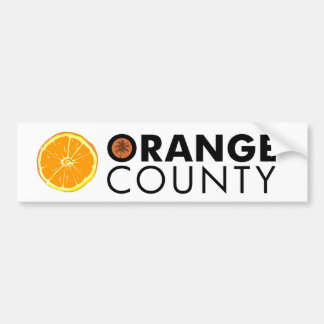 Orange County bumper sticker Car Bumper Sticker