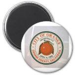 orange county, ca, USA Fridge Magnets