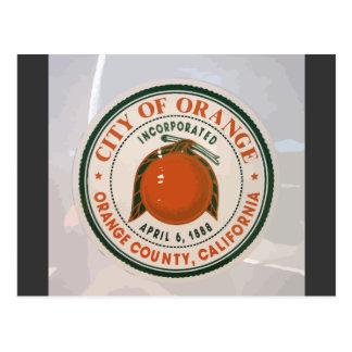 orange county, ca, USA Postcard