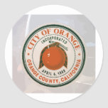 orange county, ca, USA Stickers