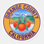 Orange County California Sticker 0512