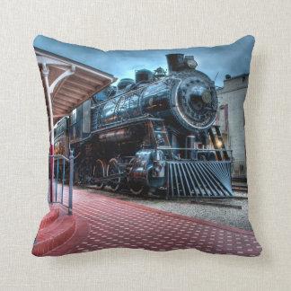 Orange County Line Throw Pillow