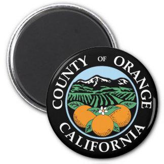 Orange county seal fridge magnets