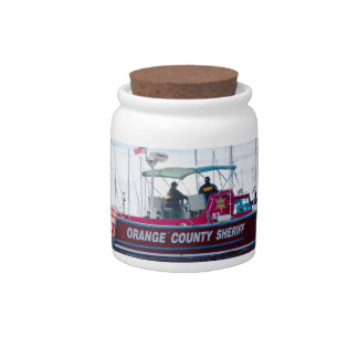 Orange County Sheriff Candy Dishes