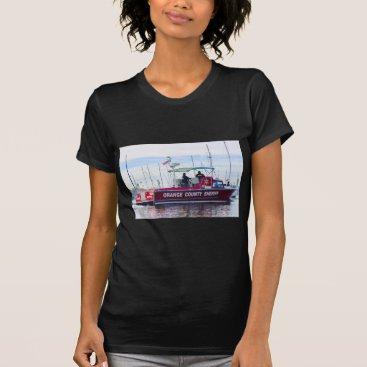 Beach Themed Orange County Sheriff T-Shirt