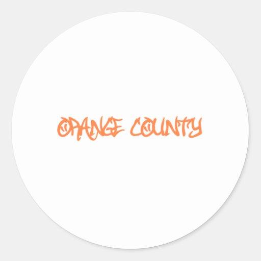 Orange County Stickers