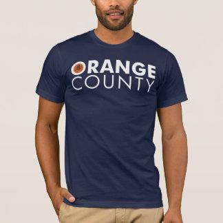 Orange County white text T-Shirt