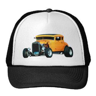 ORANGE COUPE TRUCKER HAT