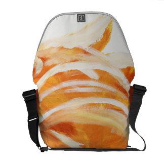 Orange Courier Bag