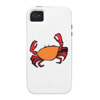 Orange Crab Case-Mate iPhone 4 Cover