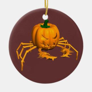 Orange Crab Ceramic Ornament