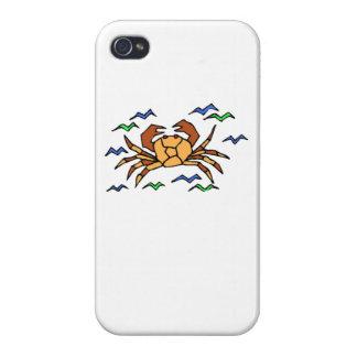 Orange Crab iPhone 4 Case
