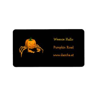 Orange Crab Label