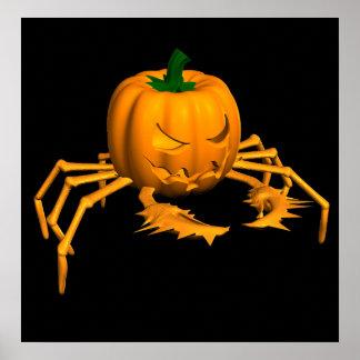 Orange Crab Poster