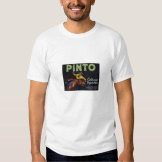 Orange Crate Art - California Vegetables - PINTO Shirt
